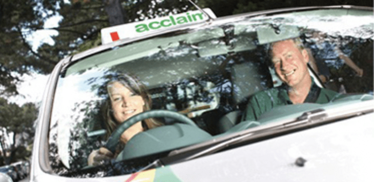 Acclaim Driving Car